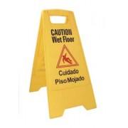 Advertencia para piso mojado
