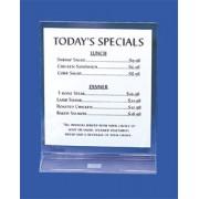 Porta menu acrilico